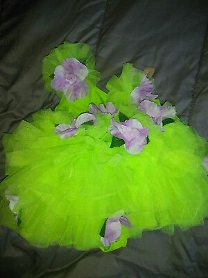 ballet costume kids size small green