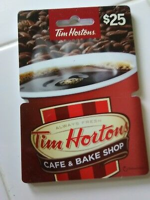 Tim Hortons 2016 Gift Card Red Cup Hanger No Value  Usa