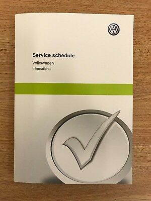 Vw Volkswagen Service Book New Unused Genuine Not Duplicate Jetta, Polo, Vw Up