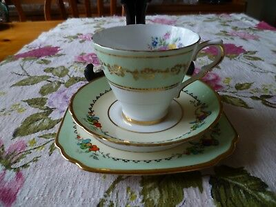 Vintage Mix & Match China Trio Collingwood's Tea Cup Clare Saucer & Plate