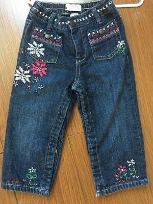 Baby gap Toddler Girl Jeans 18-24 Months