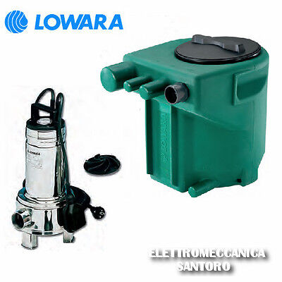 Electric Pump Submerged Domo 7 Vx Kw 0,55 220V Tub Midibox Fp 110 L Lowara