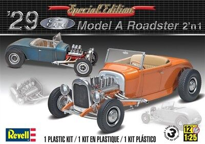 Revell 1929 Ford '29 Model A Roadster 2'n1 Special Edition