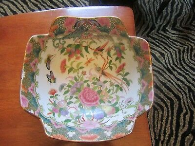 Vintage Porcelain Ware China Hand Decorated Bowl - Stunning