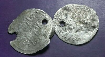 Lot Of 2 Silver Turkey Coins