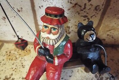 Santa and a Bear / Exclusive design by Midwest of Cannon Falls
