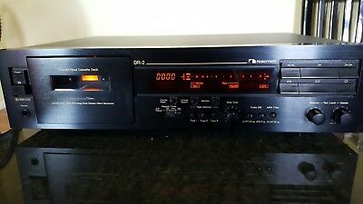 Nakamichi DR-2 3 head Cassette Deck in EXCELLENT CONDITION