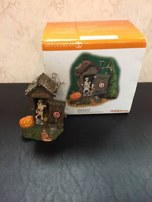 Department 56 Snow Village Halloween Village Haunted Outhouse
