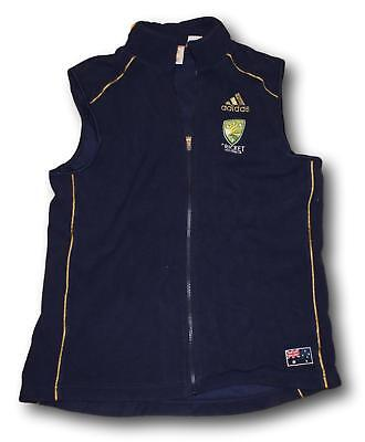 Mens Australian Test Cricket Team Players Training Casual Fleecy Vest Size XL