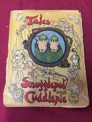 Snuggle pot And Cuddle pie Tales By May Gibbs Vintage