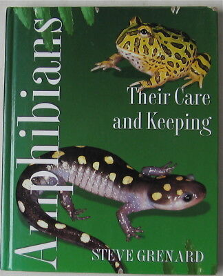 Amphibians Thier Care And Keeping Book