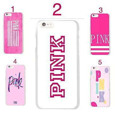 cheap for discount 445bc d8e98 VS PINK IPHONE 6/6s, 6Plus, 7 & 7 Plus Luxe Hard Phone Case