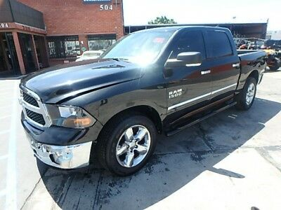 2016 Dodge Ram 1500 SLT Crew Cab SWB 4WD 2016 DODGE RAM 1500 Lone Star Package! Salvage Rebuildable! Great Color!