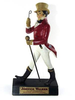 Vintage Johnnie Walker Advertising Bar Statue Figure