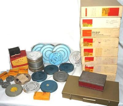 Huge Lot Home Movies Films & Slides 1950s-70s From F.W. Persoil Estate NR