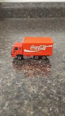 Coca-Cola Die Cast and Plastic Delivery Truck Hartoy 1988 Hong Kong 1001-135
