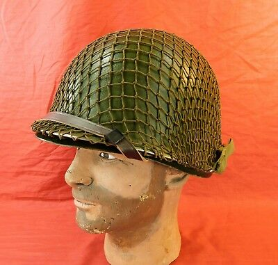 WW 2, U.S. M-1 Helmet with Liner