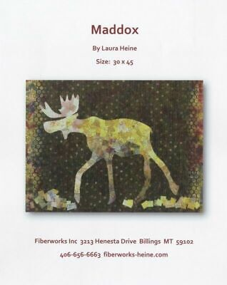 Laura Heine - Maddox Moose Collage Pattern