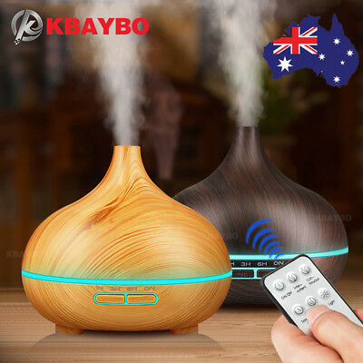 LED Ultrasonic Essential Oil Aroma Diffuser Aromatherapy Air Humidifier AU Stock
