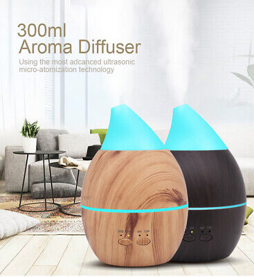 Diffuser Aromatherapy Essential Oil Diffuser Aurmoo High Capacity 7Led Colour EU