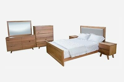 St Ives - 4 Piece Bedroom Set - Tasmanian Feature Timber
