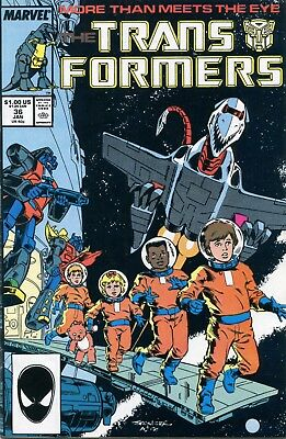 Transformers #36 FN 1988 Marvel Comic Book