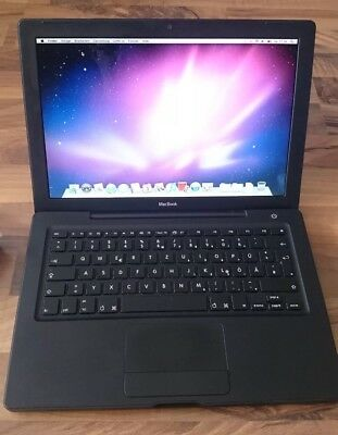 Apple MacBook Modell A1181 Schwarz, Gut, 4 GB RAM, 320 GB HDD
