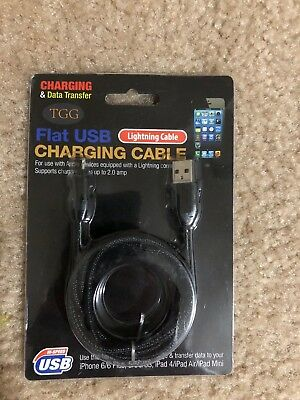 Lightning Cable (iPhone Charging and Data Transfer)