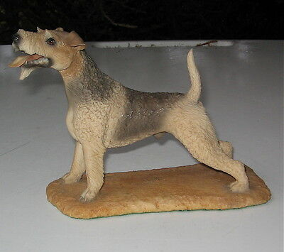 Vintage Wire Haired Fox Terrier Figurine Nico Spain