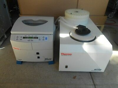 Thermo Fisher Digital SpeedVac & Savant Refrigerated Vapor Trap w 4 Rotors