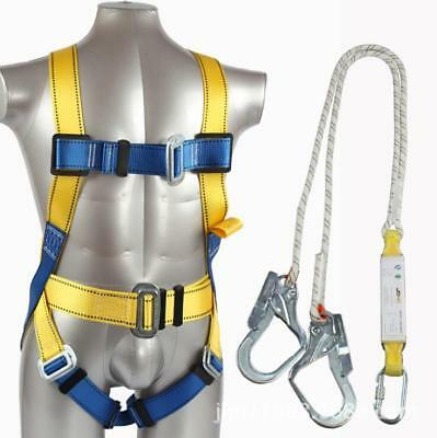 Fall Protection Construction Harness Guardian Padded double hook  safety strap