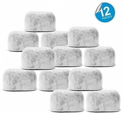 Pack Of 12 Replacement Charcoal Water Filters For Cuisinart Coffee Machines By