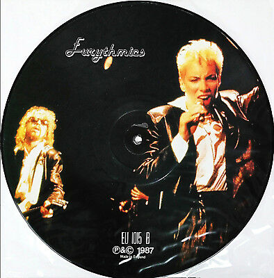 EURITHMICS - Limited Edition Picture Disc LP UK