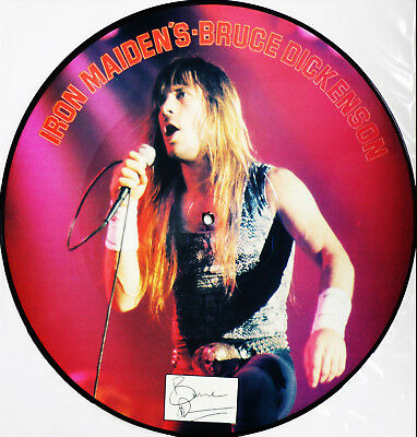 IRON MAIDEN`s Bruce Dickinson -  Limited Edition Interview Picture Disc  LP UK