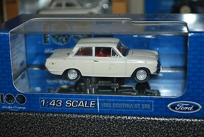 1/43 Classic Carlectables 1965 Cortina GT 500 Ford Diecast Car