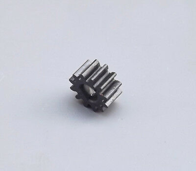 10x Plastic gear 0.5mode 12 teeth 3mm D type hole Straightedge toys Plastic gear