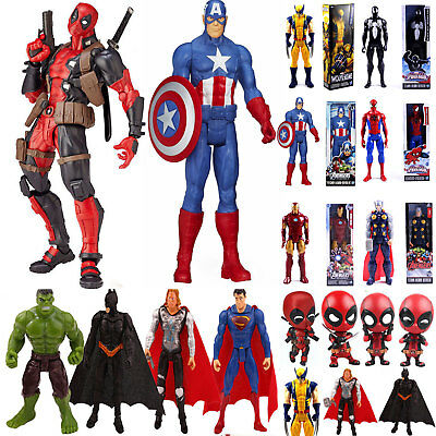 Marvel Avengers Superheld Spiderman Figur Deadpool PVC Action Figure Spielzeug