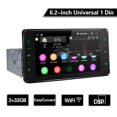 JOYING 7inch Android 8.0 Oreo Double 2 DIN Car Stereo In Dash PX5 4GB WIFI USB