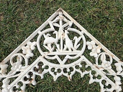 Rare Set of Historic Australian Cast Iron Lace *Australiana Collectable*