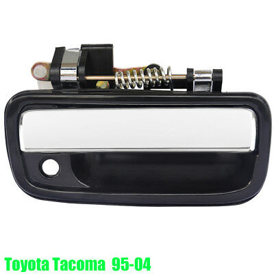 Front Right Outside Door Handle for 95-04 Toyota Tacoma Chrome Passenger Side