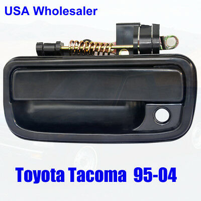 94-05 Toyota Tacoma Exterior Outside Door Handle Front Left Driver Side Black
