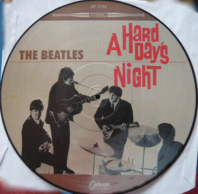 """Beatles : """"a Hard Day´s Night"""" Picture Lp"""