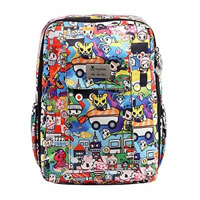 Ju-Ju-Be Tokidoki Collection MiniBe Small Backpack, Sushi Cars