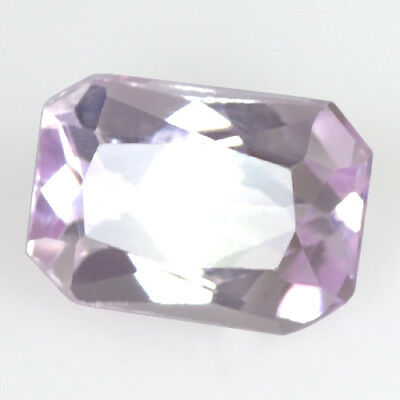 Natural Pink Kunzite Emerald Cut Afghanistan Loose Gemstone 3.60 Cts For Ring