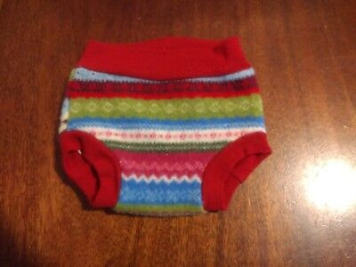 Upcycled wool diaper cover Upcy bottoms size M