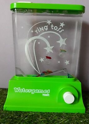 Vintage TOMY green Ring Toss water watergames game