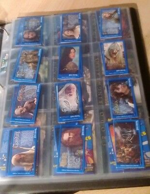 Lord Of The Rings TTT Complete 32 Card Bassets And Beyonds Candy Stick Promo Set