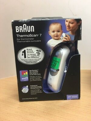 Braun ThermoScan 7 6520 Baby Professional Digital Ear Thermometer
