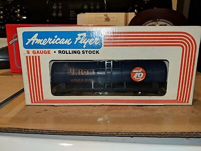 American Flyer S Gauge 4-9101 Union Oil Tank Car C-8 OB
