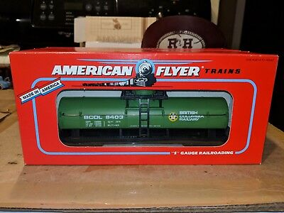 American Flyer S Gauge 6-48403 British Columbia Tank Car C-9 OB